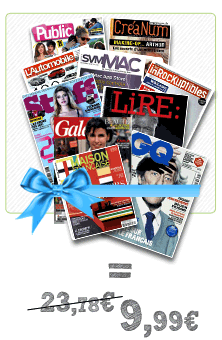 Je choisis 5 crdits en mli-mlo pour mes magazines